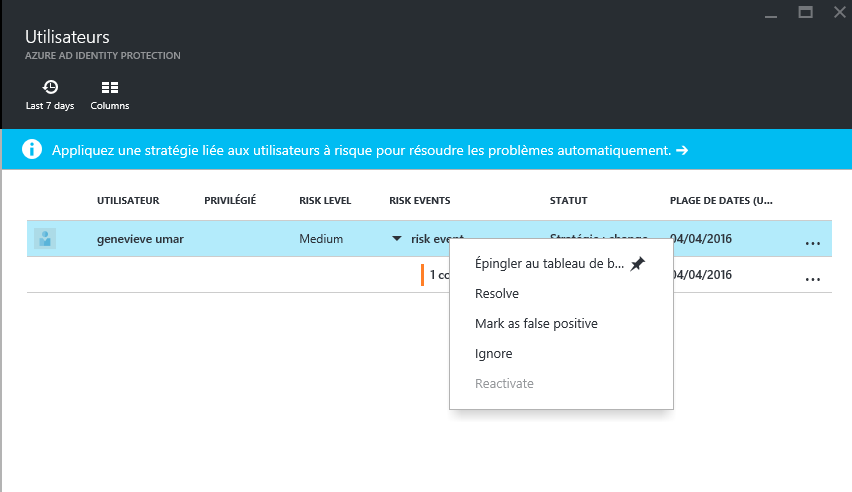 blog ai3 ResolutionManuelle3 Azure AD Identity Protection
