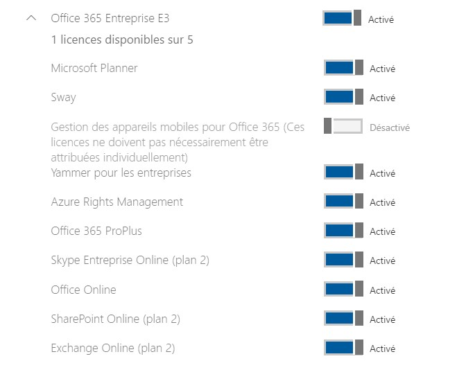 blog ai3 File04 La gestion des licences Office 365 par PowerShell